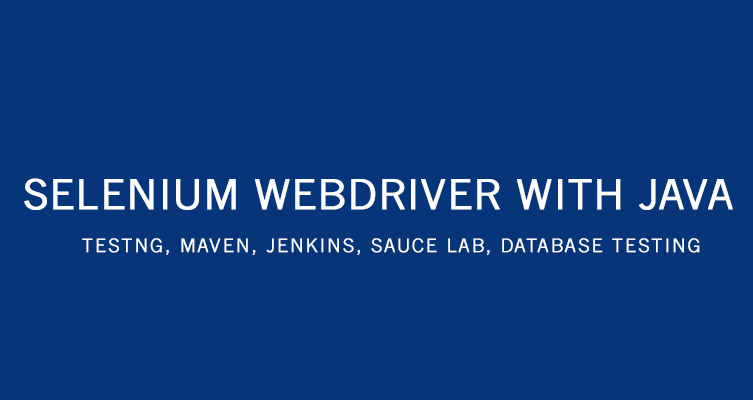 selenium webdriver with java tutorial